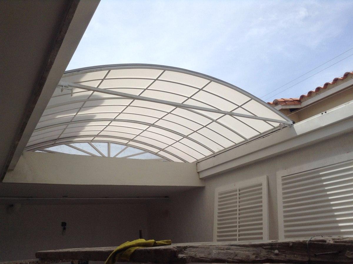 Techos c pulas toldos de policarbonato autofinanciamiento for Toldos para techos