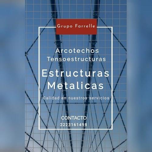 techos curvos / arcotechos / cubiertas de metal / techados