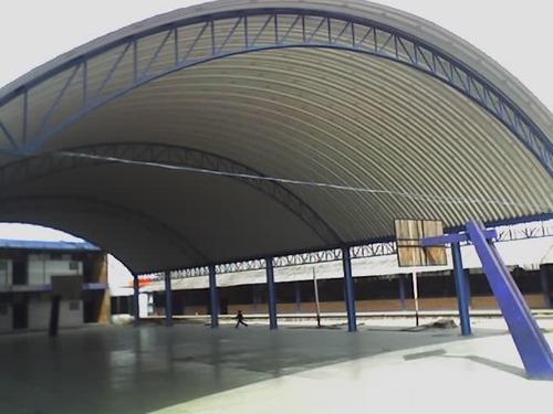 techos curvos / estructuras metálicas (arcotechos)
