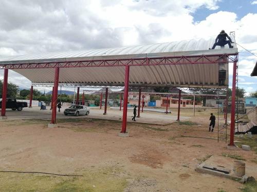 techos curvos/curvotechos/arcotechos/techos autosoportantes.