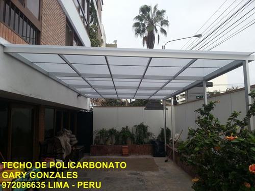 techos de aluminio y policarbonato 972096635
