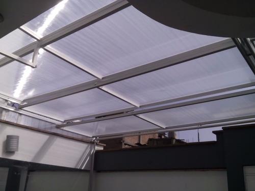 techos de aluminio y policarbonato fijos  corredizos.7238147
