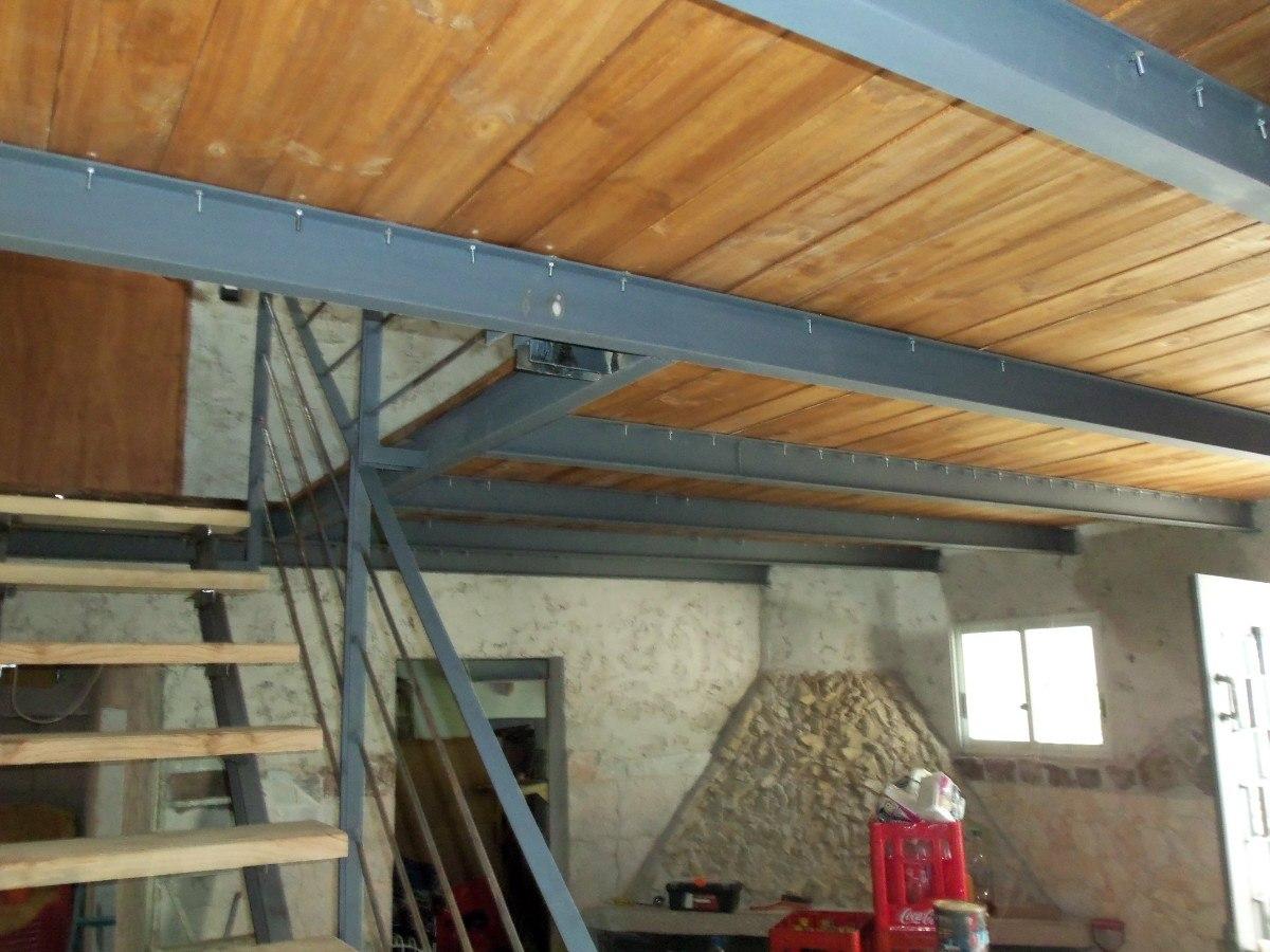 Techos de chapa estructuras metalicas entrepisos escaleras for Armar escalera metalica