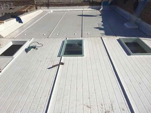 techos de isopanel.