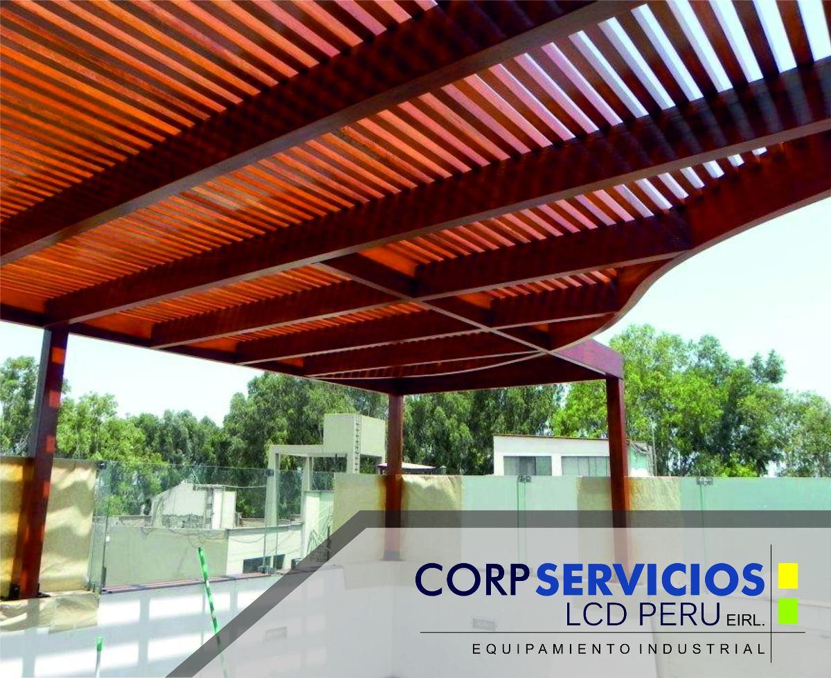 techos de madera sol y sombra diseamos en d tu terraza