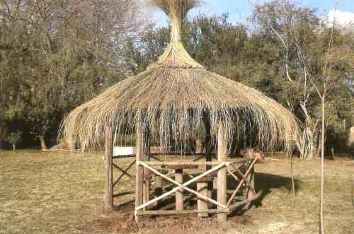 techos de paja quinchos