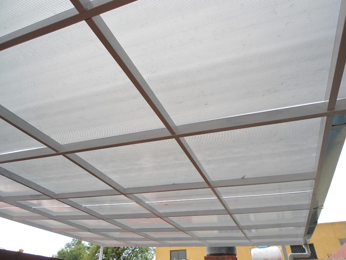 Techos de policarbonato en mercado libre for Modelos de yeso para techos
