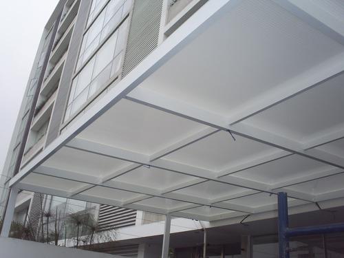 techos de policarbonato corredizos y mas
