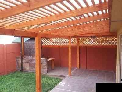 Techos de policarbonato pergolas maderas tratadas 50 for Precios de cobertizos