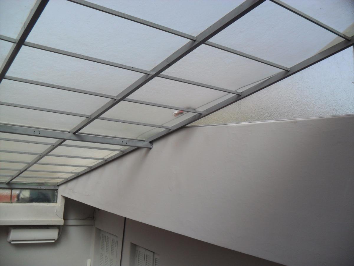 Techos de policarbonato poliacrilico fijos corredizos for Techos de policarbonato para balcones