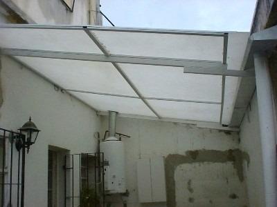 Techos de policarbonato y fabricaci n de techos en aluminio s 100 00 en mercado libre - Techo de policarbonato precios ...