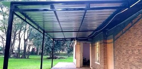 techos de policarbonatos  antigranizos corredizos y fijos