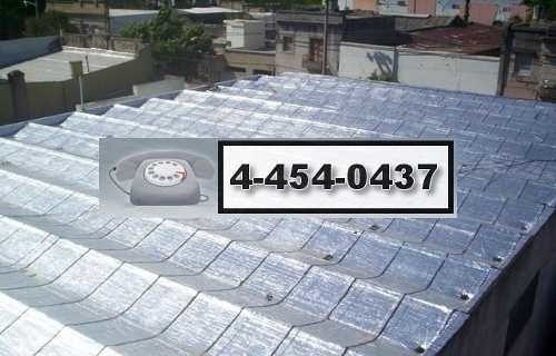 techos de teja chapa loza impermeabilización techista