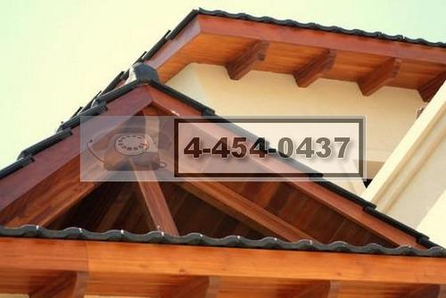 techos de tejas chapa loza impermeabilizacion 4-454-0437