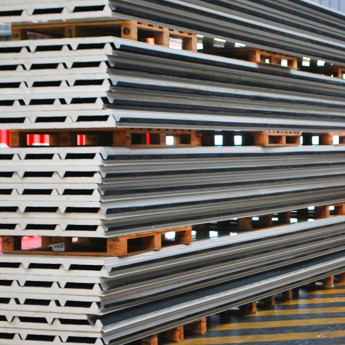 Techos en isopanel paneles para techos de poliuretano - Paneles de poliuretano ...