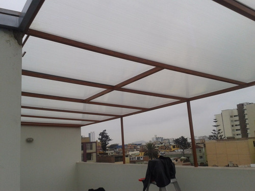 techos en policarbonato fijos  y corredizos  telf.   7238147