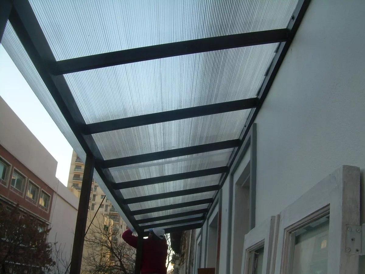 Techos en policarbonato hierro y madera 1500 mt2 - Suelo de policarbonato ...