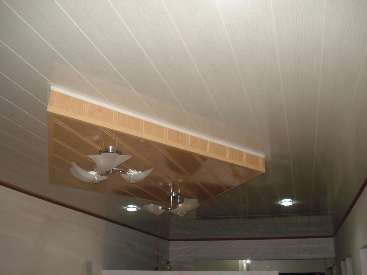 Techos en pvc y drywall en mercado libre - Falsos techos pvc ...