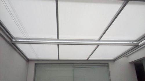 techos fijos y corredizos de aluminio con policarbonato