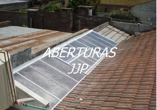techos fijos y corredizos de vidrio y poliacrilico