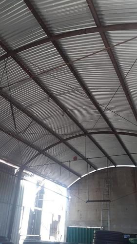 techos galpones reparación / reciclado / construcción