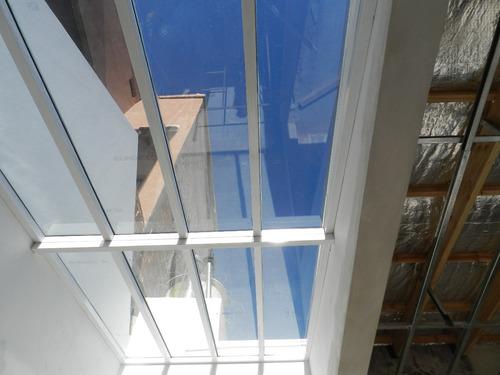 techos garages policarbonato vidrio cerramientos aluminio