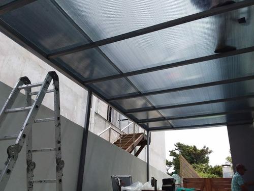 techos livianos de policarbonato o chapa