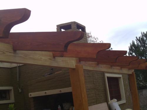 techos livianos, pergolas, decks..