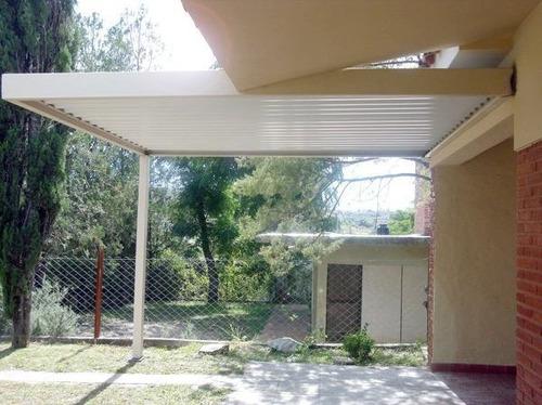 techos metalicos para cocheras y galerias