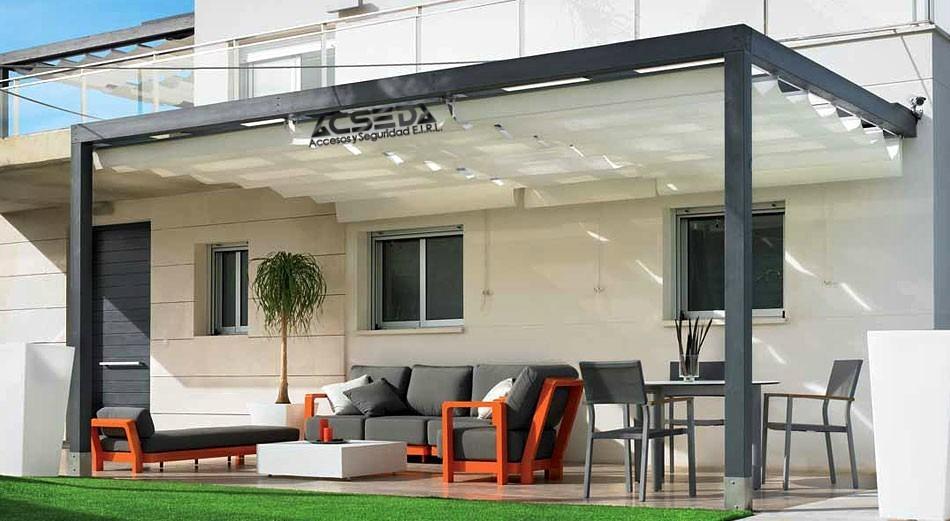 Techos para terraza departamentos interiores y exteriores s 100 00 en mercado libre - Toldos para patios interiores ...