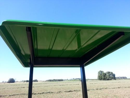 techos para tractores