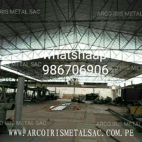 techos parabolicos,naves industriales,estructuras metalicas
