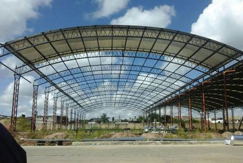 techos parabólicos,techos industriales, estructuras metalica