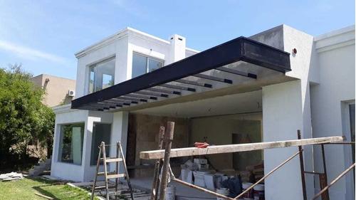 techos, pergolas, cerramientos,barandas de acero inoxidable