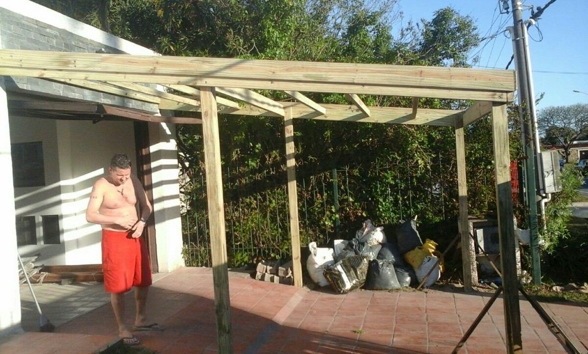 Techos de pergolas techos livianos decks y pergolas for Cubiertas para techos livianas