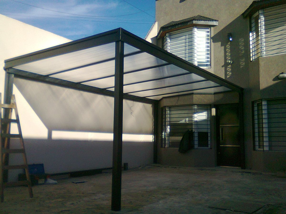 Techos policarbonato garages pergolas cocheras for Tipos de techos de lamina