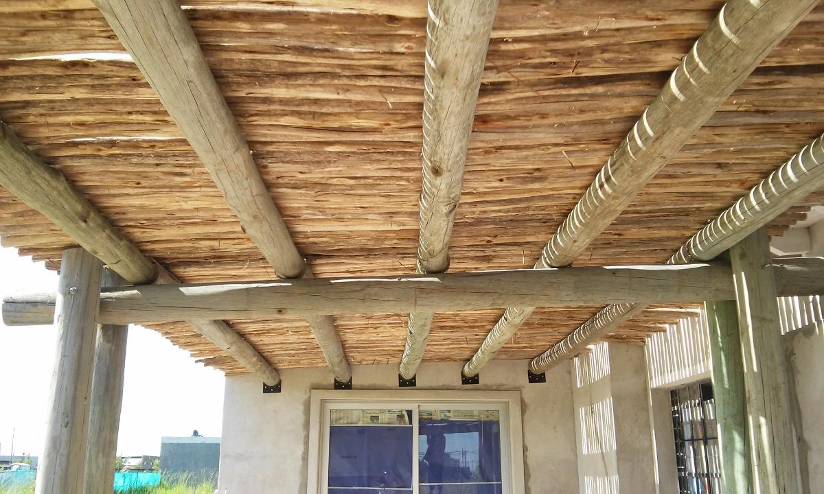 Techos rusticos interiores comedor rstico con techo de - Techos de madera rusticos ...