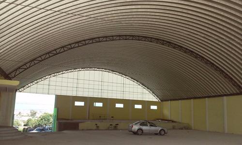 techos sin estructura , estructuras metálicas , andamios.
