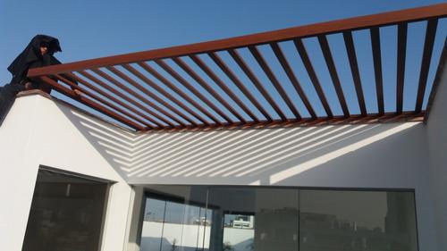 techos terrazas 935812119 (asia) madera - techos sol y sombr