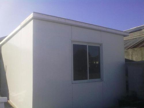 techos y casas en isopanel.u$s 59 el m2 colocado.