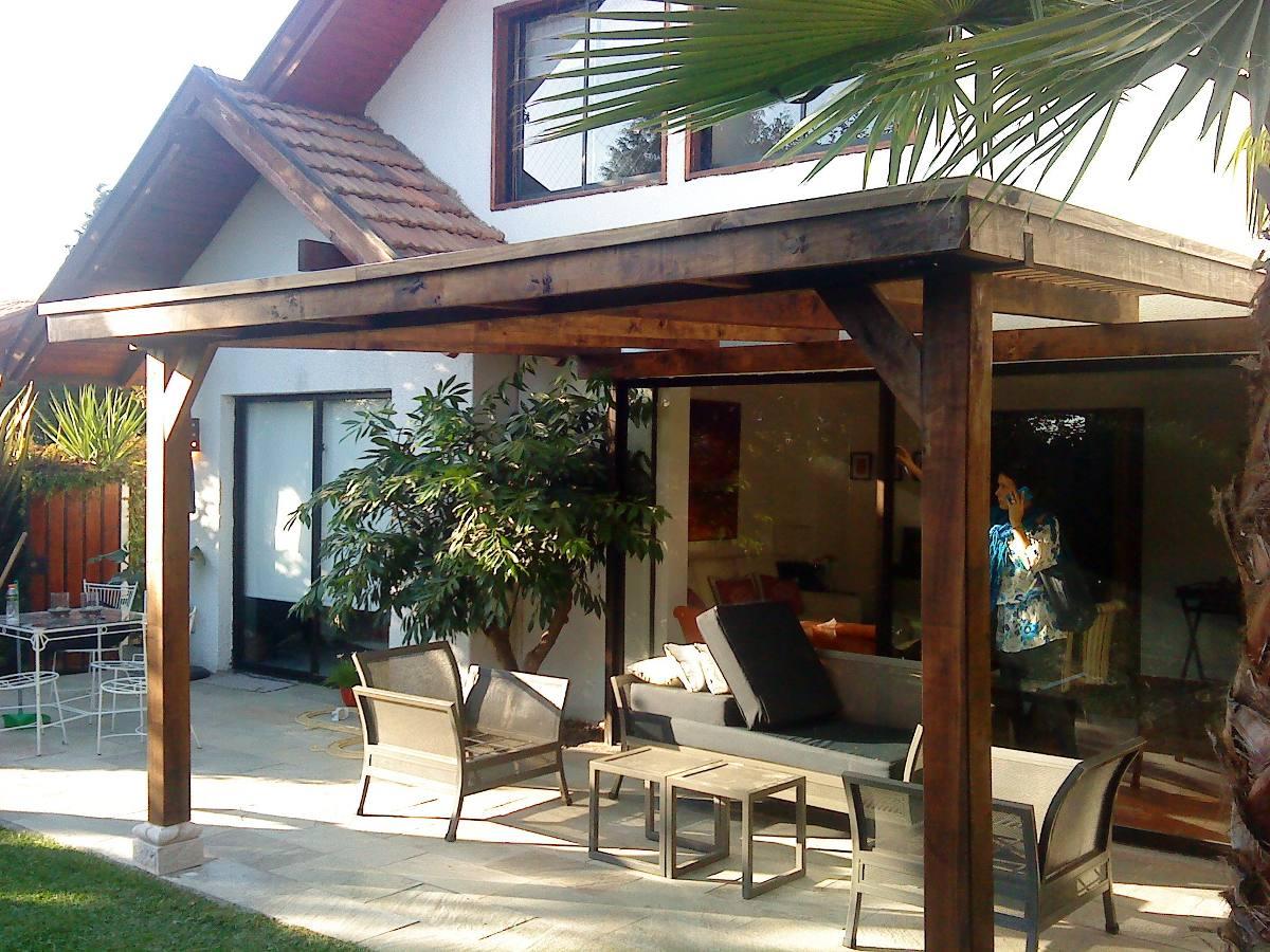 Techos y cobertizos en mercado libre for Cobertizos para terrazas
