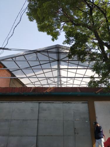 techos y domos de policarbonato