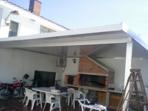 techos,viviendas,galpones en isopanel.u$s 69 el m2 colocado.