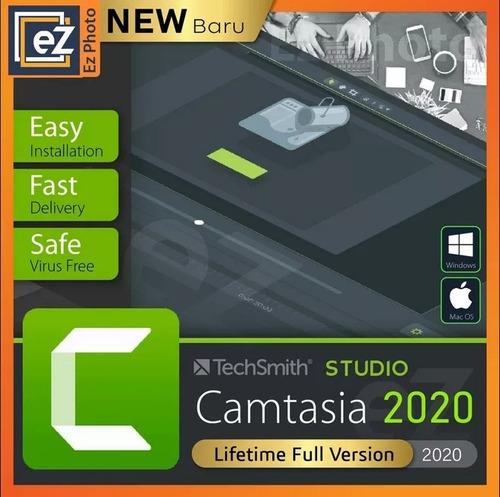 techsmith camtasia studio 2020 vitalício para windows 64x