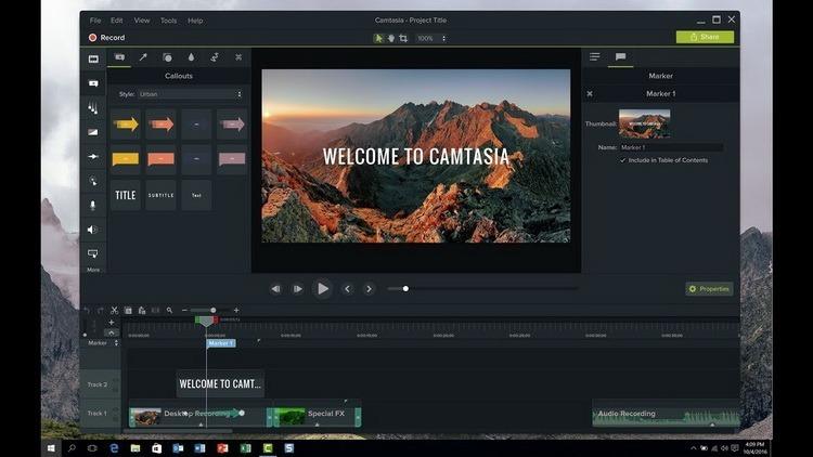 Resultado de imagen para TechSmith Camtasia Studio