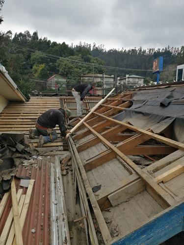techumbre, cubiertas, reparaciones, ampliaciones y mantencio