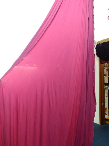 tecido acrobático 10 metros pink