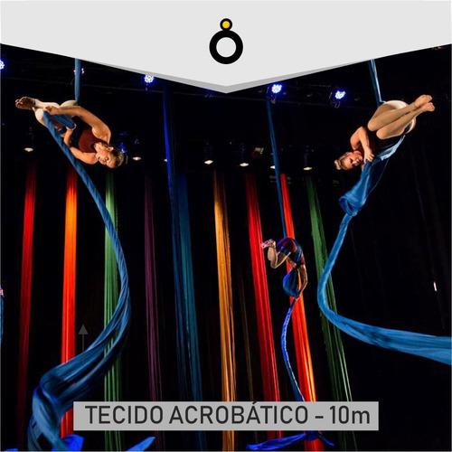 tecido acrobático circense 10 metros frete gratis