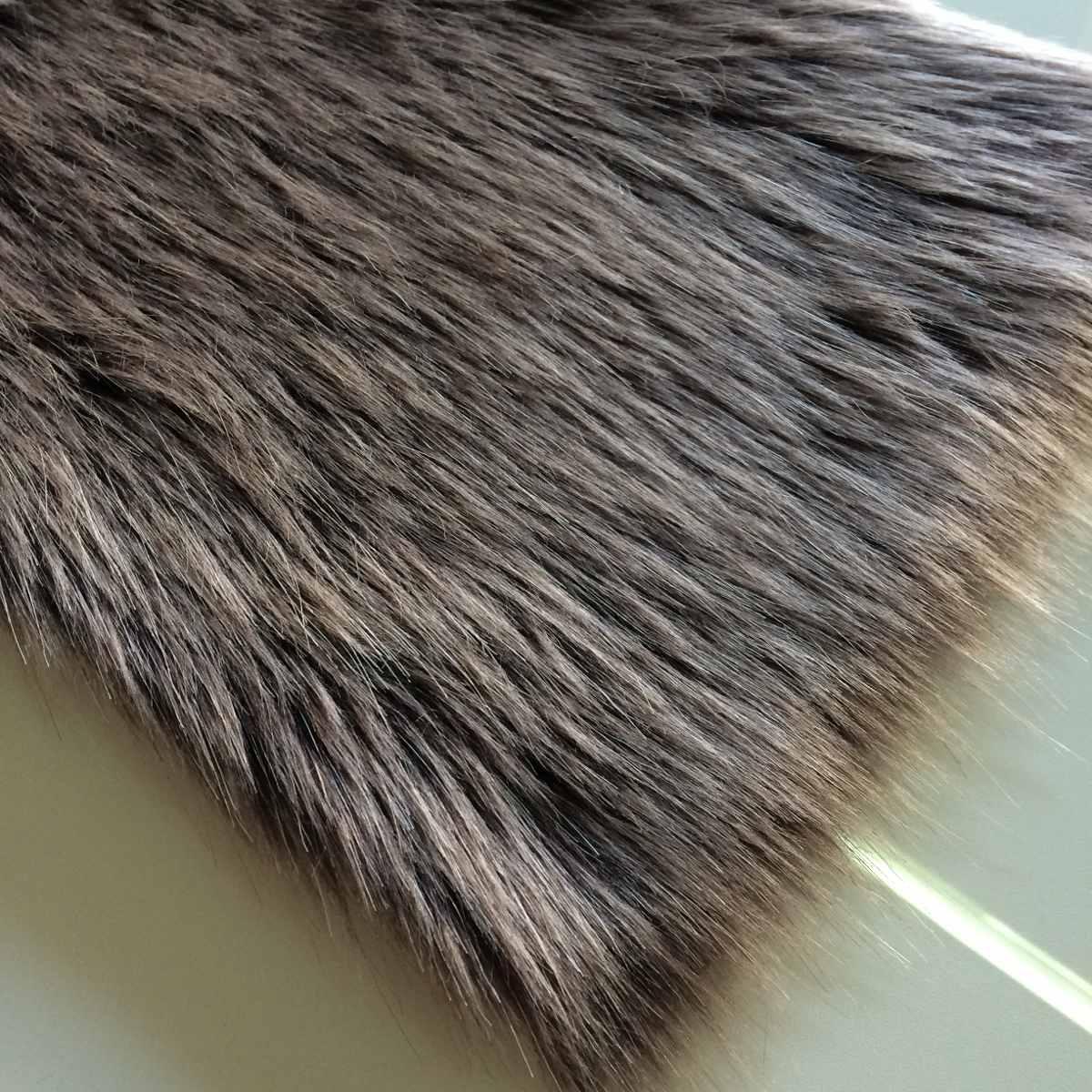 tecido colete pêlo alto 7 cm pele sintética faux - cores. Carregando zoom. afab7ff1b448c