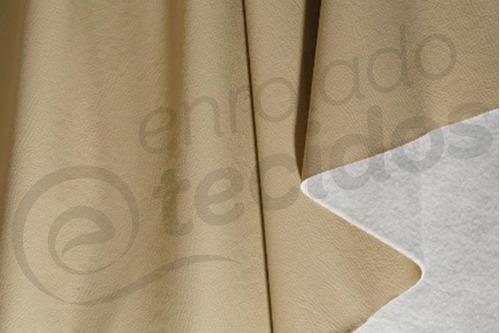 tecido corano preto couro sintético 1m x 1,4m para tapeçaria
